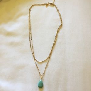 🌎PLANET BLUE🌎 gold necklace